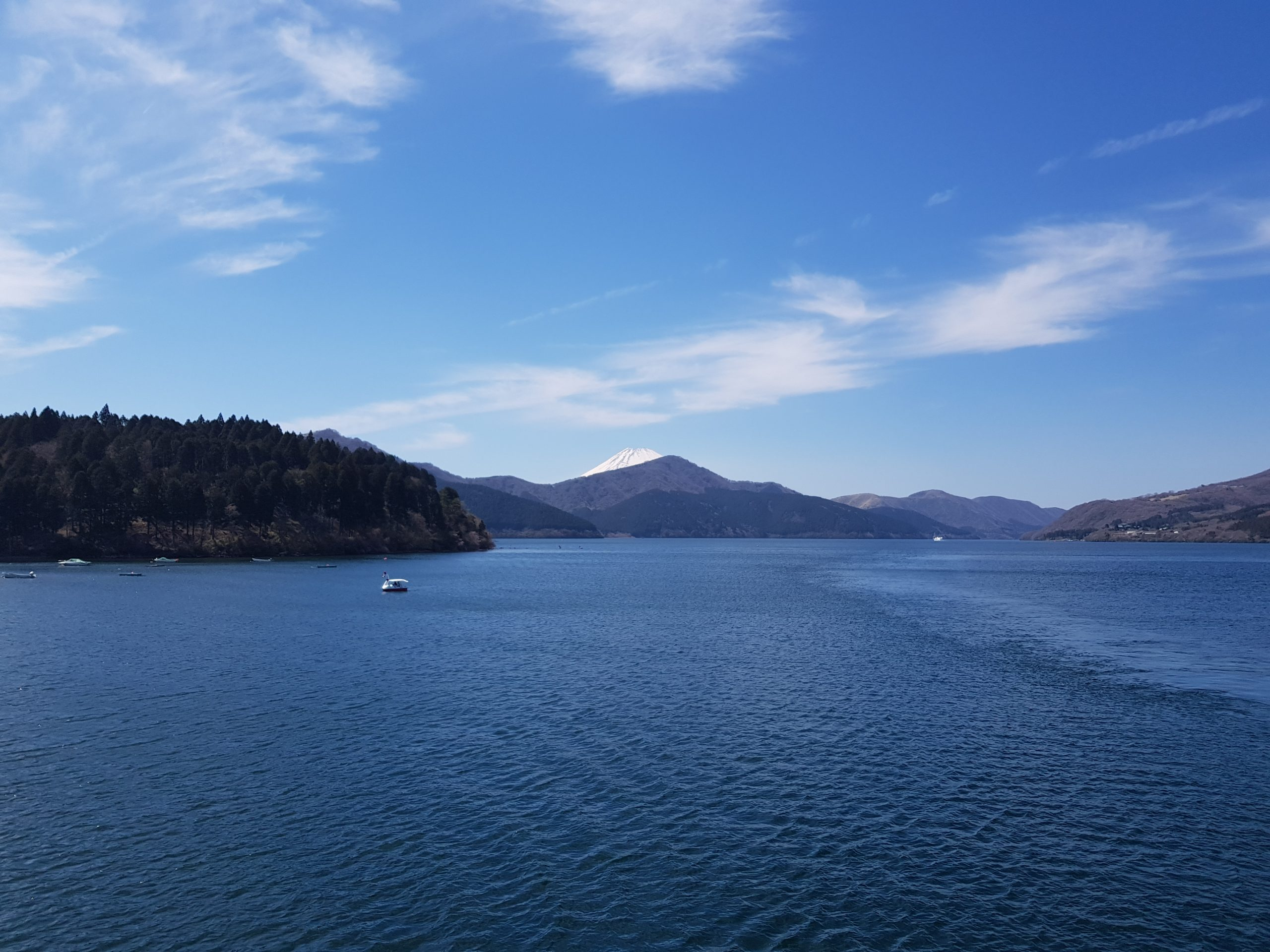 Ashi lake, Hakone