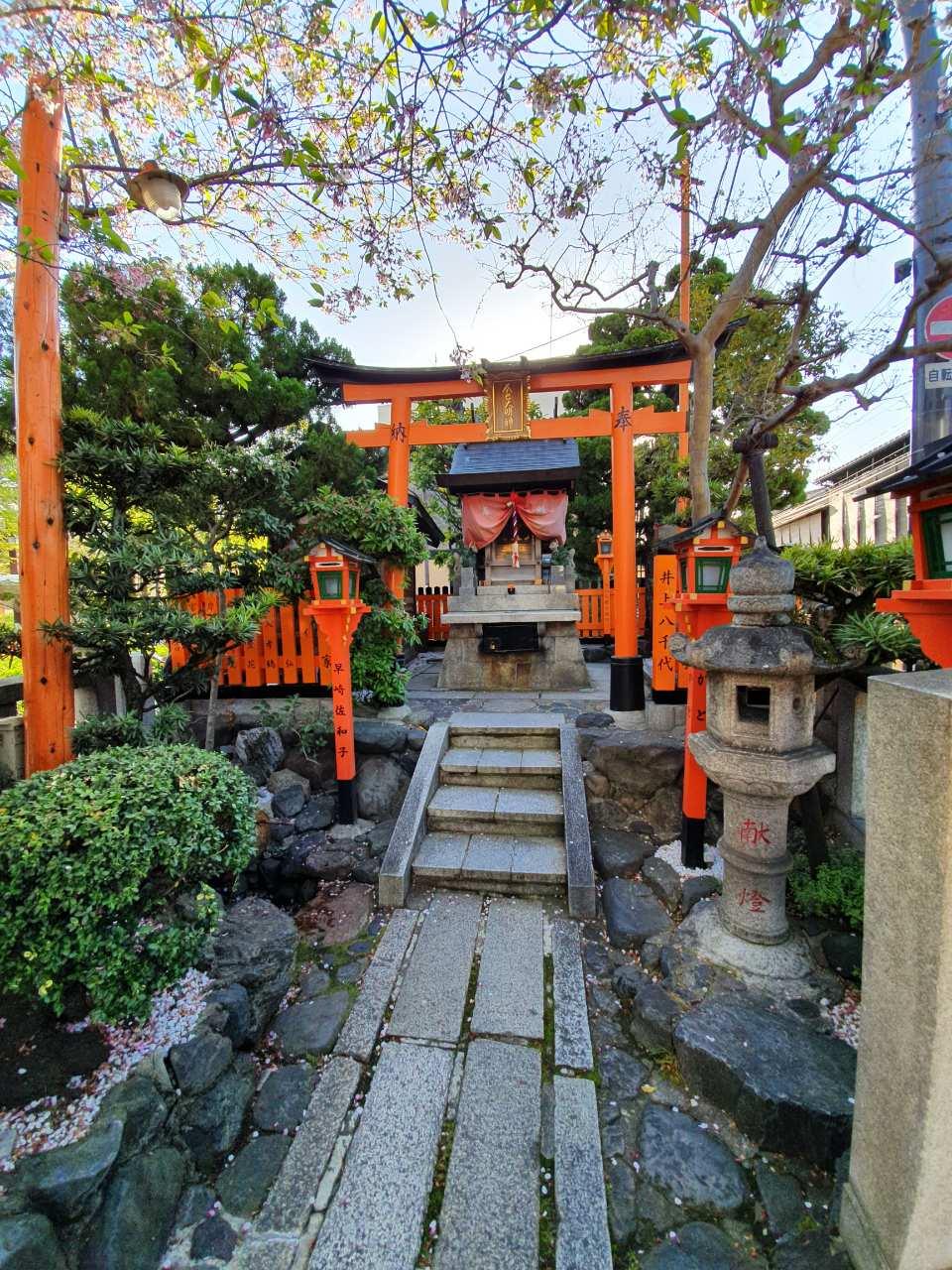 Shinto temple, Kyoto